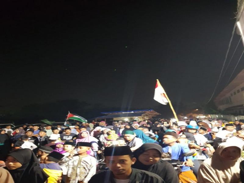 1000-warga-kelurahan-jatiuwung-pawai-taaruf-menyambut-bulan-suci-ramadhan