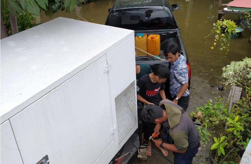 mesin-genset-diterjunkan-guna-optimalkan-kerja-pompa-air