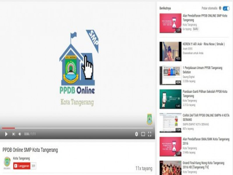 sosialisasi-ppdb-online-di-youtube